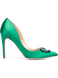 Rupert Sanderson 'Emerald' Pumps Green