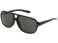 Zeal Optics Darby Polarized Black Gloss W Dark Grey Polarized Lens Sport Sunglasses