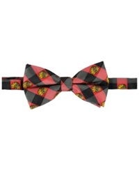 Eagles Wings Chicago Blackhawks Bow Tie Black Red