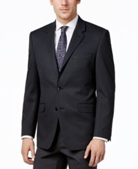 Alfani Men's Traveler Charcoal Solid Classic Fit Jacket Only At Macy's