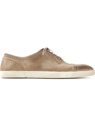 N.D.C. Made By Hand Perforated Lace Up Shoes Nude And Neutrals