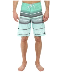 Billabong All Day Stripe 21 Boardshort Mint Men's Swimwear Green