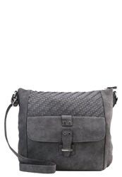 S.Oliver Across Body Bag Pewter Grey
