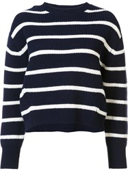Sea Striped Jumper Blue