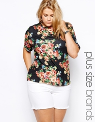 Alice And You Floral T Shirt Multi