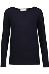Kain Label Vicki Stretch Modal Sweater Midnight Blue
