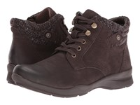 Earth Davana Dark Brown Soft Buck Women's Lace Up Casual Shoes
