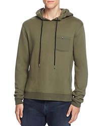 Sovereign Code Rio Long Sleeve Hoodie Olive