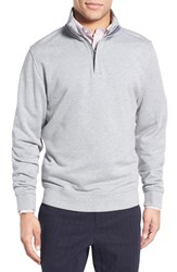 Men's Brooks Brothers French Terry Cotton Half Zip Sweater