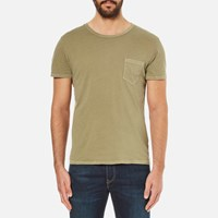 Gant Rugger Men's Loose T Shirt Army Green