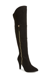 N.Y.L.A. 'Ashira' Over The Knee Boot Women Black