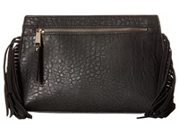 French Connection Bowie Clutch Black Handbags
