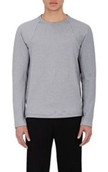 Theory Men's French Terry Sweatshirt Colorless