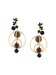Marni Mixed Hoop Clip On Earrings
