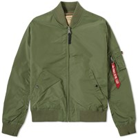 Alpha Industries Ma 1 Tt Jacket Green