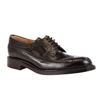 John Lewis And Co. Made In England Leather Brogue Derby Shoes