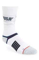 Strideline Men's 'American Fade' Strapped Fit 2.0 Socks
