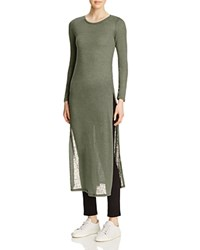 Leibl '38 Long Sleeve Maxi Tee Compare At 78 Sienna