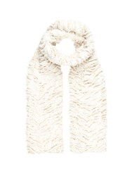 Wallis Cream Faux Fur Scarf