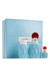 Miu Miu Eau De Parfum Set Limited Edition 140 Value