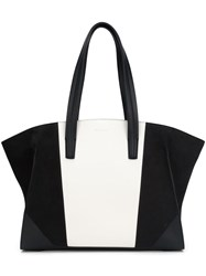 Narciso Rodriguez Large Panelled Tote Blue