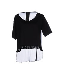 Luxury Fashion Topwear T Shirts Women Black