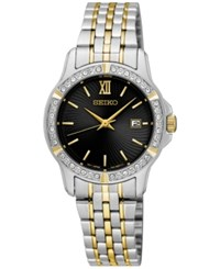 Seiko Women's Special Value Two Tone Stainless Steel Bracelet Watch 28Mm Sur730 Two Tone