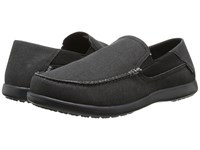 Crocs Santa Cruz 2 Luxe Black Black Men's Sandals
