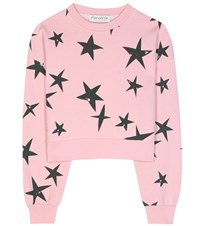 Etre Cecile Printed Cotton Sweater Pink