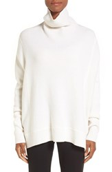 Nordstrom Women's Collection Cashmere Boxy Turtleneck