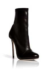 Dsquared Leather Stiletto Ankle Boots