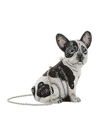 Judith Leiber Fred French Bulldog Clutch Female Multi