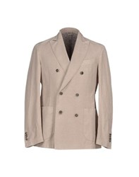 Gran Sasso Suits And Jackets Blazers Men Sand