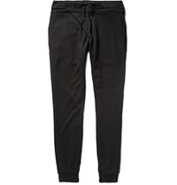 Cotton And Modal Blend Jersey Sweatpants Black