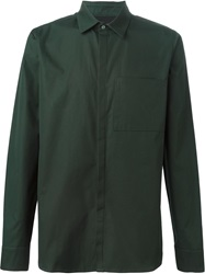 Tim Coppens Chest Pocket Shirt Green