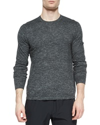 Andre Crewneck Sweater Silver Theory