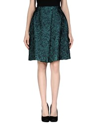 Charlott Skirts Knee Length Skirts Women Green