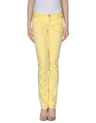 Liu Jeans Casual Pants Yellow
