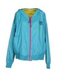 Fornarina Jackets Turquoise