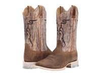 Ariat Mesteno Dust Devil Tan Marble Cowboy Boots Brown