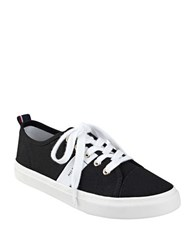 Tommy Hilfiger Lanie2 Signature Striped Sneakers Black