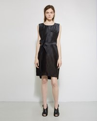 Maison Martin Margiela Couture Silk Dress Degraded Smoke