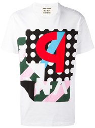 Henrik Vibskov 'Ps' Print T Shirt White