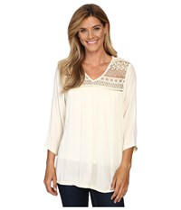 Ariat Georgia Top Papyrus Women's Long Sleeve Pullover Taupe