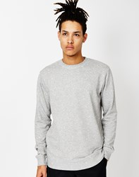 Only And Sons Crane Sweatshirt Grey