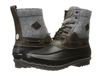 Sperry Decoy Boot Wool Grey Men's Lace Up Boots Gray