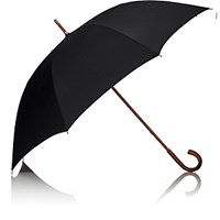 Barneys New York Men's Doorman Stick Umbrella Black No Color Black No Color