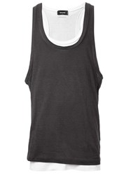 Dsquared2 Twin Long Vests Green
