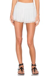 Chloe Oliver Cabana Boy Short White
