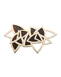 Vionnet Brooches Gold